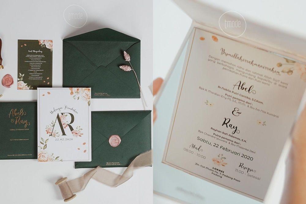 Undangan pernikahan unik ala para seleb
