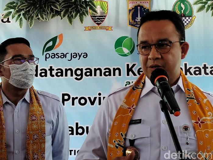 Anies Baswedan dan Ridwan Kamil di Sumedang