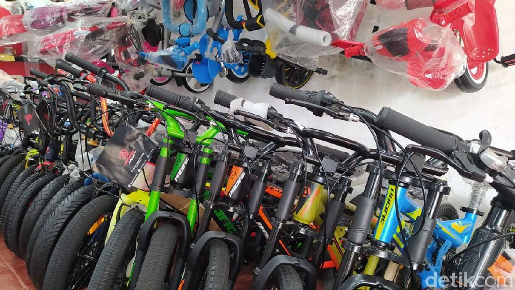 Pembelinya Merosot, Harga Sepeda Mulai Diobral