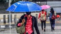 BMKG: Waspada Hujan Kilat di Jaksel dan Jaktim 17 Juni