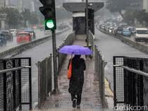 Waspada, Masih Ada Potensi Hujan Intensitas Lebat di Akhir Pekan