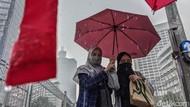 BMKG: Sejumlah Wilayah di Indonesia Berpotensi Hujan Lebat