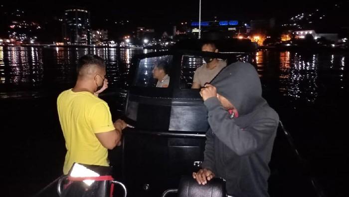 Ditpolairud Polda Papua mengamankan 7 WN Papua Nugini (PNG) yang masuk ke wilayah Papua secara ilegal (Dok Polda Papua)