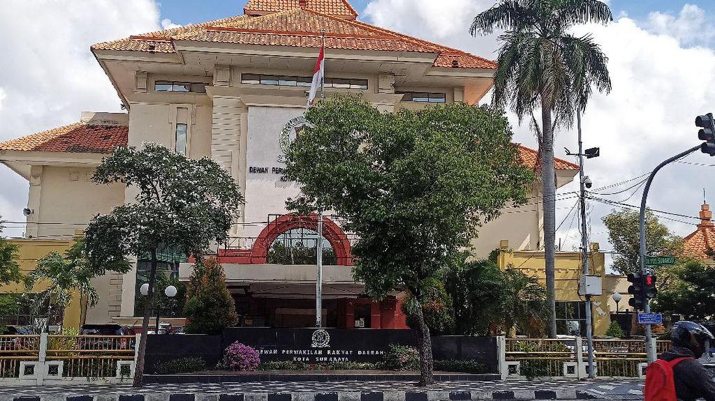 Penampakan Kantor DPRD Surabaya Usai Anggotanya Terpapar COVID-19