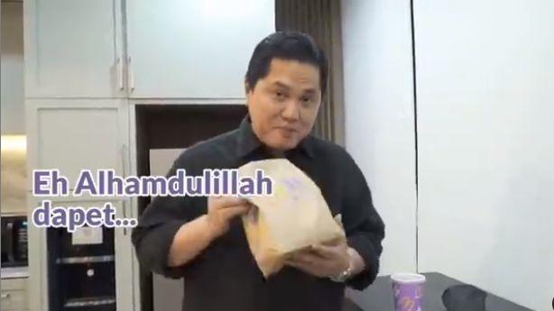 Erick Tohir Beli BTS Meal