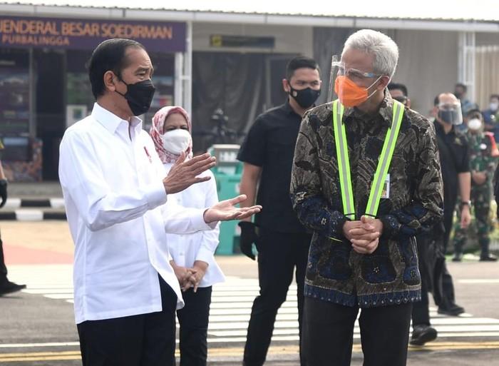 Ganjar Pranowo & Jokowi