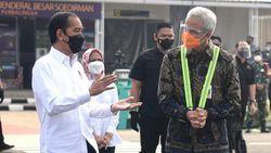 Jokowi Cek Bandara Purbalingga, Ganjar Harap Jateng Selatan Ketiban Rezeki