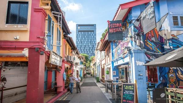 Haji Lane, Singapura di posisi kedelapan.