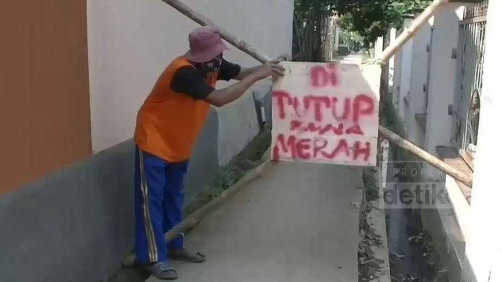 Kasus Corona Tinggi, Satu Dusun di Subang Di-lockdown