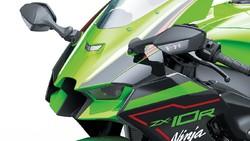 Lihat Lebih Dekat Kawasaki Ninja ZX-10R 2021 Rp 520 Juta