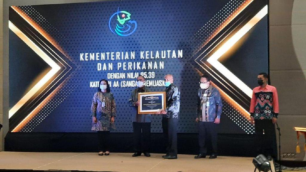 Sabet Anugerah Kearsipan ANRI, KKP Kelola Arsip Digital Strategis Negara