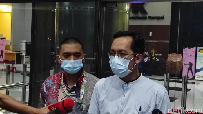 March Falentino, pendamping dua penyidik KPK yang dilaporkan ke Dewas