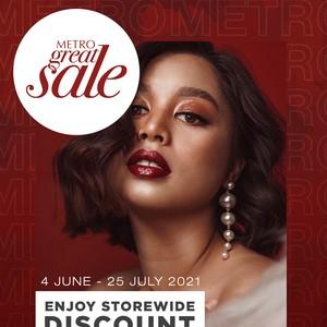 Metro Great Sale Datang Lagi, Diskon Hingga 50% Mulai 4 Juni 2021