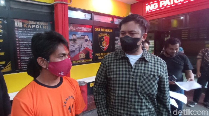 Pelaku pencurian di Bandung.