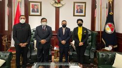 Usai Heboh Isu Mafia Alutsista, Connie Bakrie Bertemu Menhan Prabowo