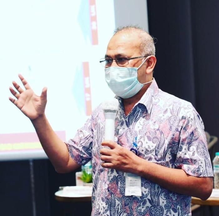 Plt. Direktur Bina Standardisasi Kompetensi dan Program Pelatihan Binalatvoktas Kemnaker, Muchtar Aziz