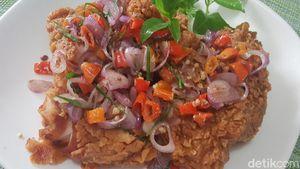 Resep Ayam Gepuk Sambal Matah yang Gurih Pedas Nampol