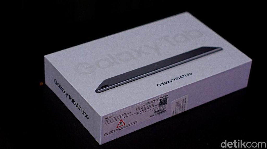 Unboxing Samsung Galaxy Tab A7 Lite, Tablet Rp 2 Jutaan untuk Pelajar