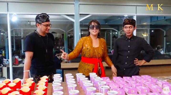 Selain Sisca Kohl, Maharani Kemala 'Crazy Rich Bali' Juga Borong BTS Meal!