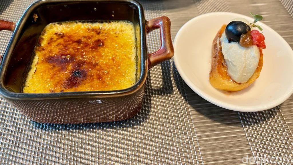 Lobster Thermidor dan Foie Gras Brulee Diracik Chef Jerman di Restoran Ini