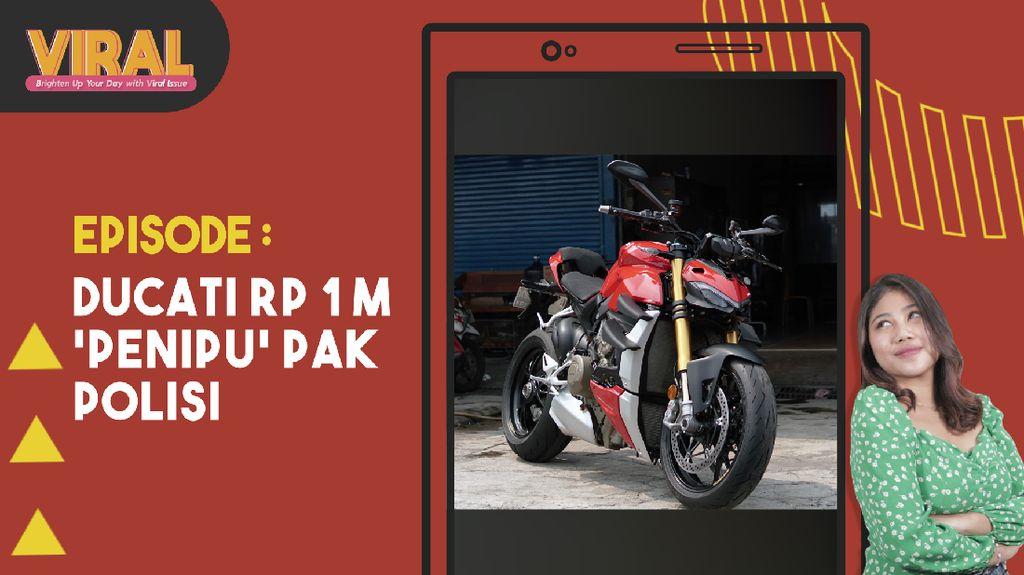 Ngulik Moge Ducati Rp 1 M yang Viral karena Salah Tilang