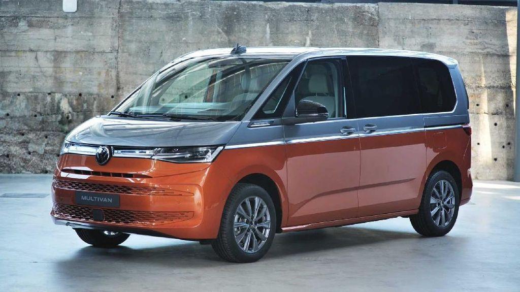 Volkswagen Multivan T7 Berbekal Hybrid Cantik Banget