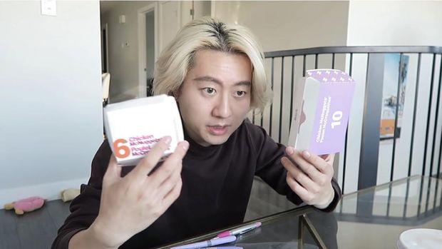 YouTuber Bikin BTS Meal Palsu