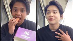 Ngakak! Pria Ini Berubah jadi Oppa Korea saat Makan BTS Meal