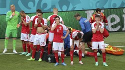 Euro 2020: Christian Eriksen Kolaps di Laga Denmark Vs Finlandia
