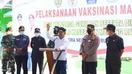Gubernur Kalteng Maraton Tinjau Vaksinasi COVID-19 di 3 Kabupaten