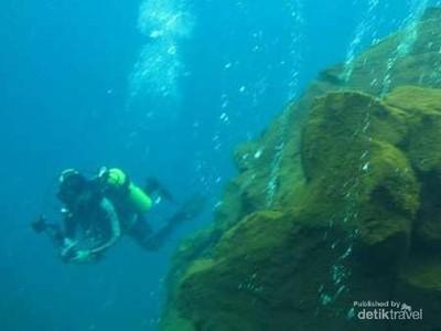Ajaibnya Wisata Sangihe, Ada Gunung Berapi di Bawah Laut