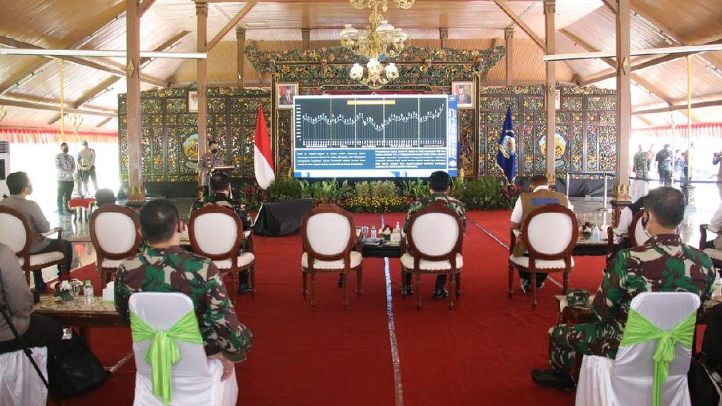 Kapolri dan Panglima TNI Gandeng Tokoh Agama Tekan COVID-19 di Bangkalan