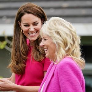 9 Momen Akrab Kate Middleton dan Jill Biden, Gaya Serasinya Jadi Sorotan