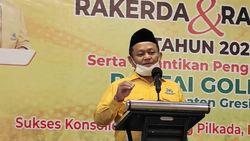 Golkar Jatim Ajak Kader Siap-siap Dukung Airlangga Hartarto Jadi Capres