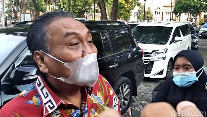 Ketua DPD PDIP Jawa Tengah Bambang Wuryanto atau Bambang Pacul di Solo