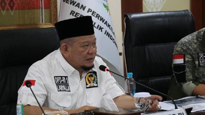 Ketua DPD RI, AA La Nyalla Mahmud Mattalitti
