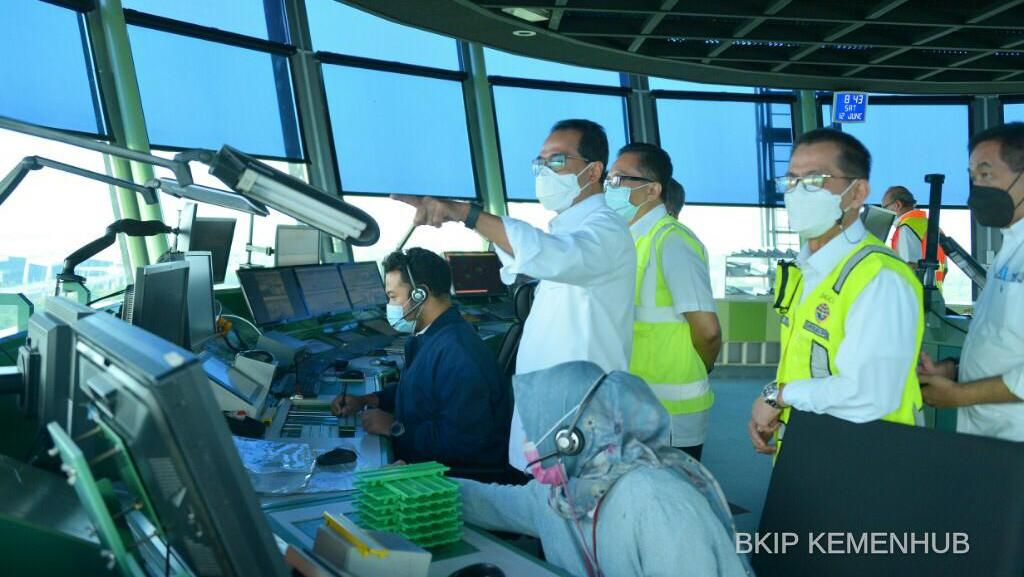 Menhub Sebut Pergerakan Pesawat di Indonesia di Atas 60%