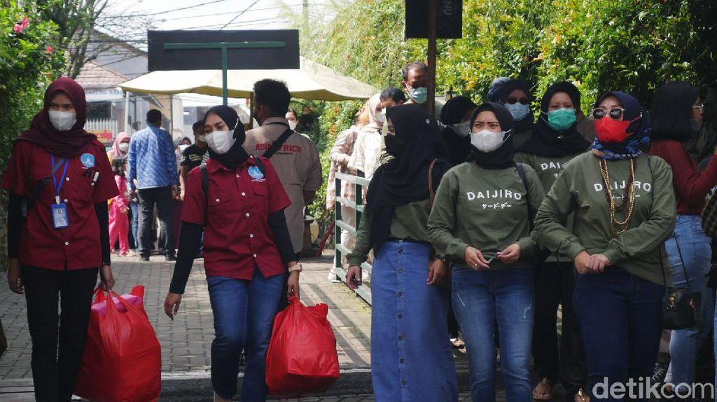 Meski Zona Merah, Objek Wisata Lembang Tetap Dipadati Pengunjung
