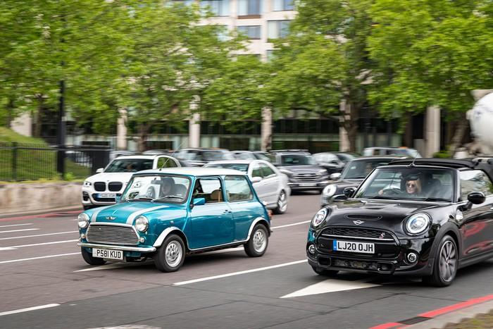 London electric cars sulap MINI