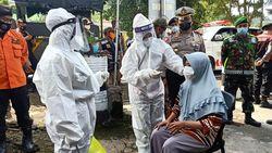 Puluhan Warga Magetan Terjaring Operasi Yustisi Tak Pakai Masker di Keramaian