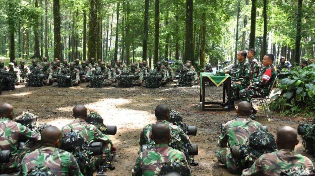 Pangdam Kasuari ke Siswa Prajurit Papua Barat: NKRI Harga Mati!