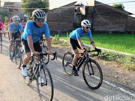 Foto: Pedalpedia 2021, Gowes Aman Terapkan Protokol Kesehatan
