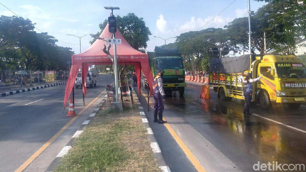 Sepekan Penyekatan di Suramadu, Volume Kendaraan Melintas Menurun