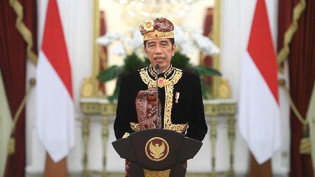 Presiden Jokowi saat Membuka Pesta Kesenian Bali