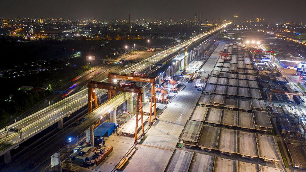 Progres Terkini Proyek Kereta Cepat Jakarta-Bandung