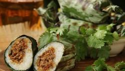 Resep Lalampa Khas Manado Isi Ikan Tuna Asap yang Gurih Pedas