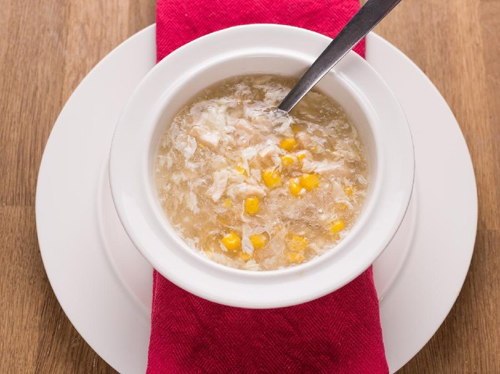 Resep Sup Jagung Telur