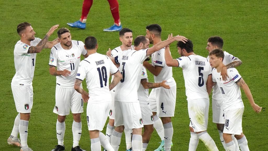 Rekor! Italia Akhirnya Cetak Tiga Gol di Piala Eropa