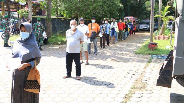 vaksinasi massal di Bangkalan