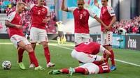 Denmark Vs Finlandia Ditunda Usai Eriksen Tak Sadarkan diri